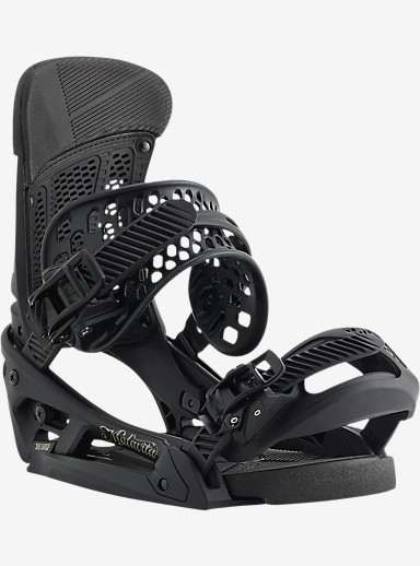 Burton Malavita EST Snowboard Binding shown in Black