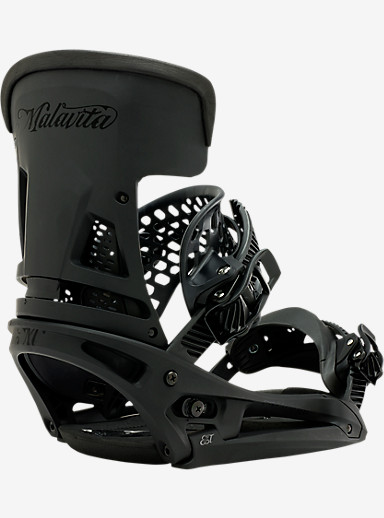 Burton Malavita EST Snowboard Binding shown in Reaper