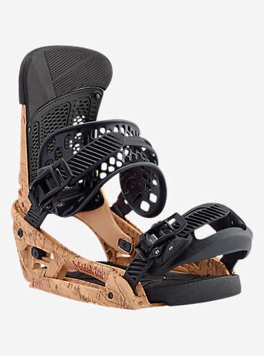 Burton Malavita EST Snowboard Binding shown in Double Cork