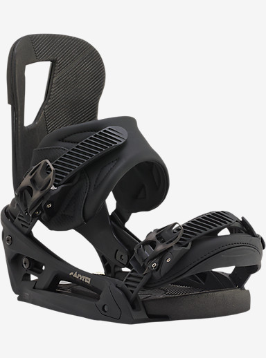 Burton Cartel EST Snowboard Binding shown in Black