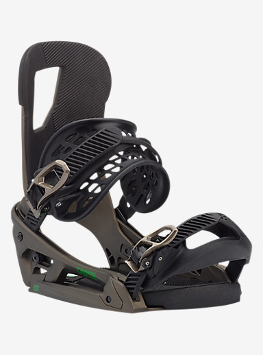 Burton Cartel EST Snowboard Binding shown in Dusty Gold