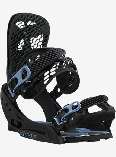 Burton Escapade EST Snowboard Binding shown in Black