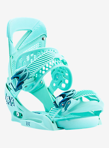 Burton Lexa EST Snowboard Binding shown in The Teal Deal