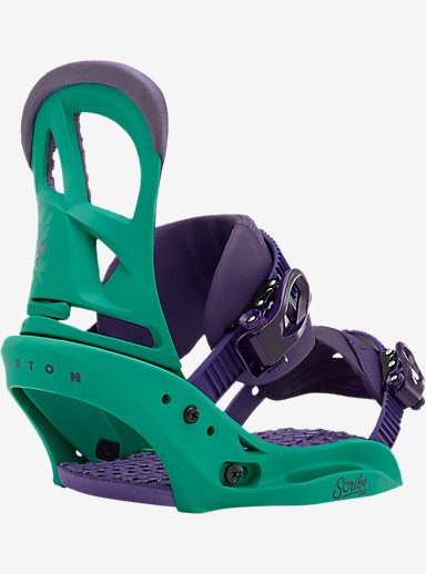 Burton Scribe EST Snowboard Binding shown in 50 Shades of Green