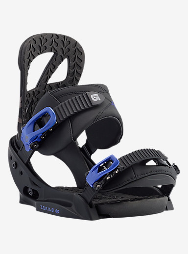 Burton Scribe EST Snowboard Binding shown in Black / Lavender