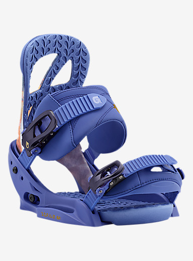 Burton Scribe EST Snowboard Binding shown in Sunset Socialite