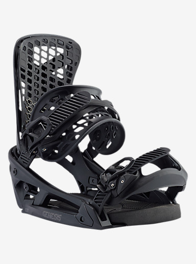 Burton Genesis EST Snowboard Binding shown in Black