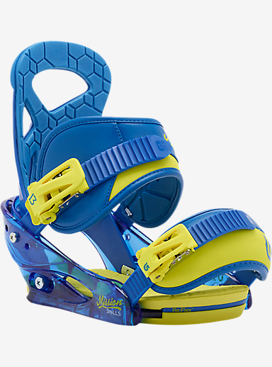 Burton Mission Smalls Snowboard Binding shown in Next Level Blue