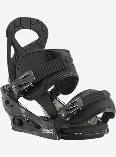 Burton Mission Smalls Snowboard Binding shown in Black