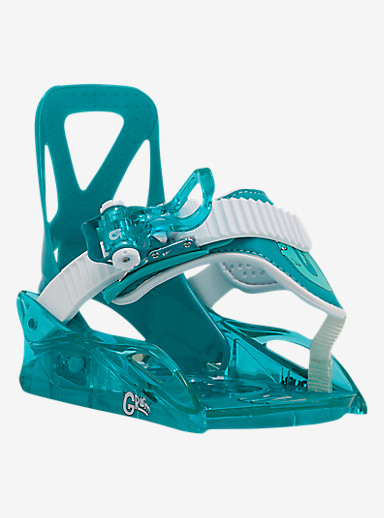 Burton Grom Binding Snowboard Binding shown in Sea Glass Green