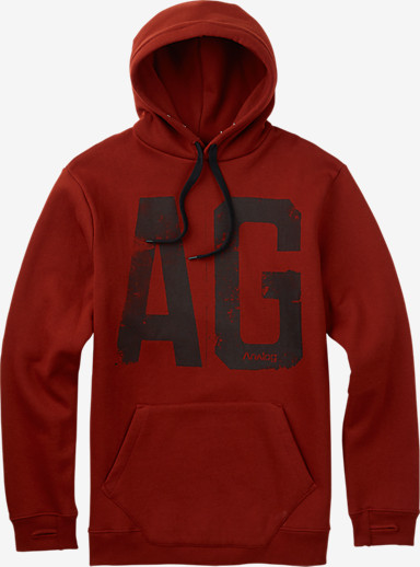 Analog Agent Pullover Hoodie  shown in Oxblood
