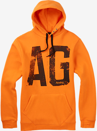 Analog Agent Pullover Hoodie  shown in Safety