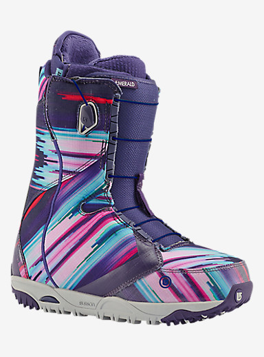 Burton Emerald Snowboard Boot shown in Multi Print