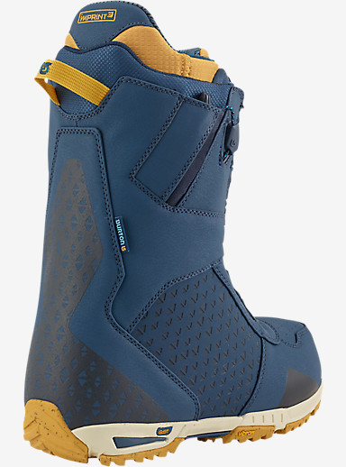 Burton Imperial Snowboard Boot shown in Blue Gold