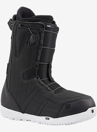 Burton AMB Snowboard Boot shown in Black / White