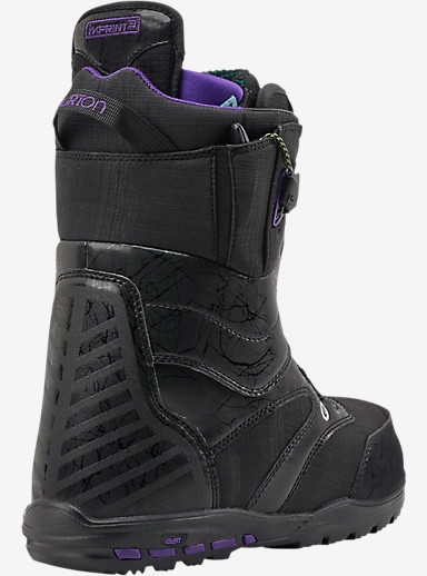 Burton Ritual Snowboard Boot shown in Black / Grape