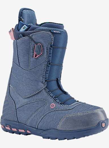 Burton Ritual Snowboard Boot shown in Debby Does Denim