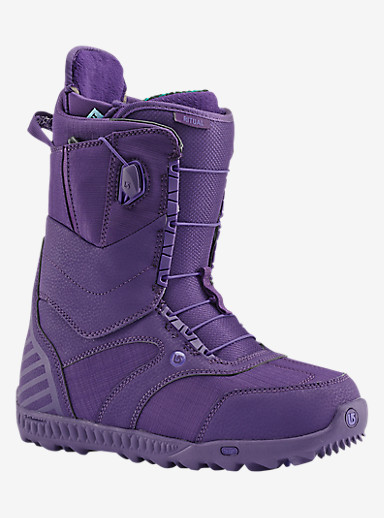 Burton Ritual Snowboard Boot shown in Feelgood Purple