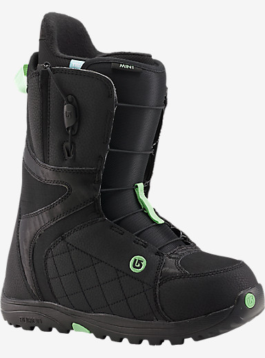 Burton Mint Snowboard Boot shown in Black / Mint