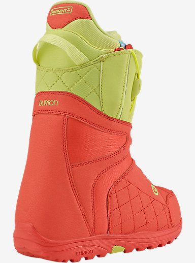 Burton Mint Snowboard Boot shown in Coral / Yellow
