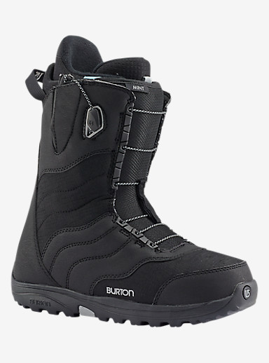 Burton Mint Snowboard Boot shown in Black