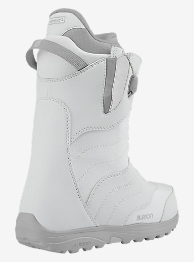 Burton Mint Snowboard Boot shown in White / Gray