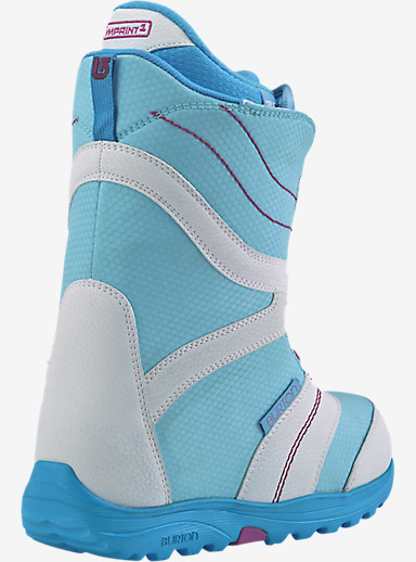 Burton Coco Snowboard Boot shown in White / Blue