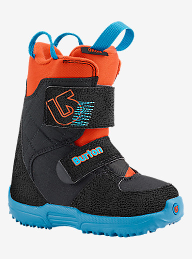 Burton Mini-Grom Snowboard Boot shown in Webslinger Blue