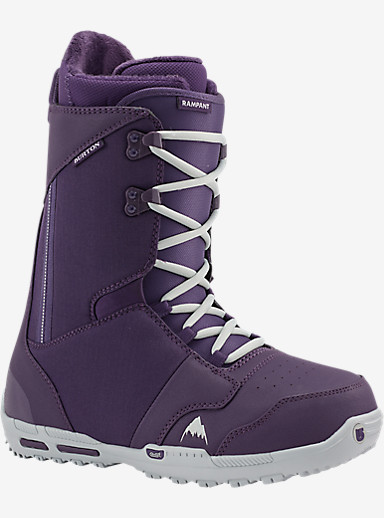 Burton Rampant Snowboard Boot shown in Purps