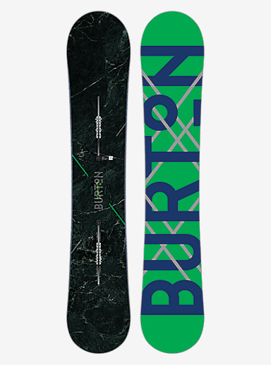Burton Custom X Snowboard shown in 158