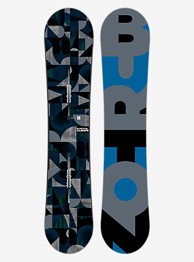 Burton Clash Snowboard shown in 139