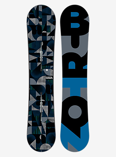 Burton Clash Snowboard shown in 145