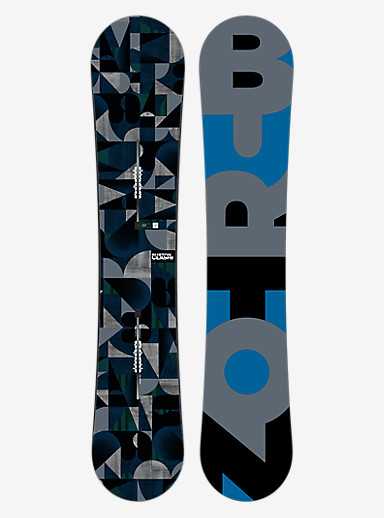 Burton Clash Snowboard shown in 155
