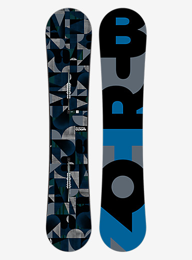 Burton Clash Snowboard shown in 158