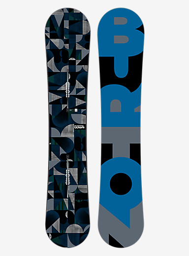 Burton Clash Snowboard shown in 160
