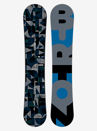 Burton Clash Snowboard shown in 164W