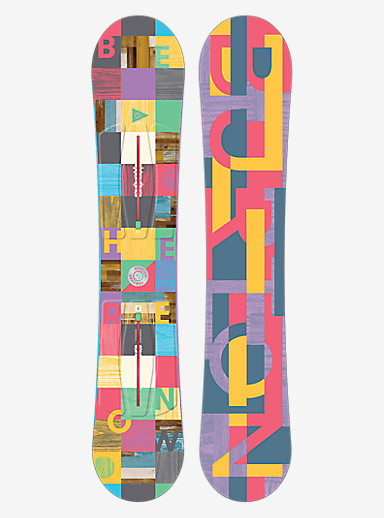 Burton Feather Snowboard shown in 149