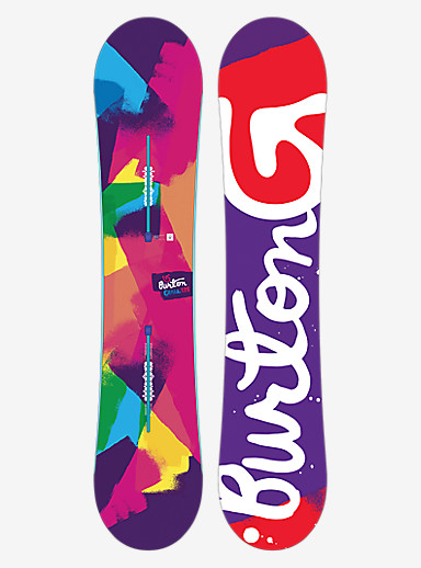 Burton Genie Snowboard shown in 138