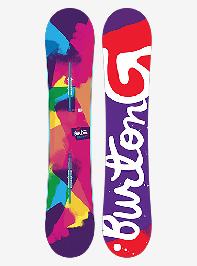 Burton Genie Snowboard shown in 142