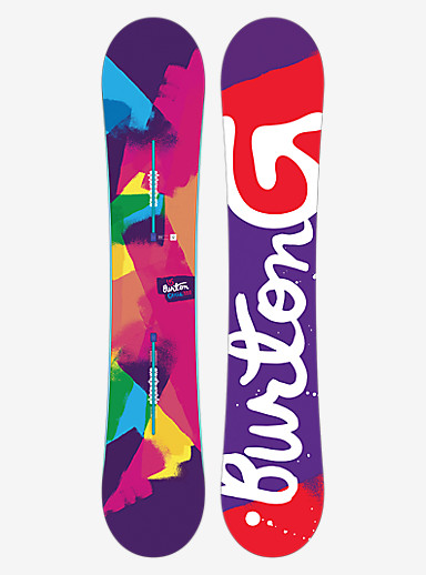 Burton Genie Snowboard shown in 152