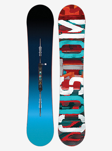 Burton Custom Flying V Snowboard shown in 151