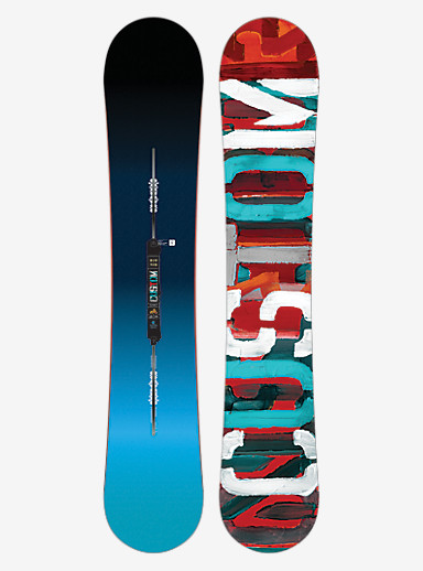 Burton Custom Flying V Snowboard shown in 163