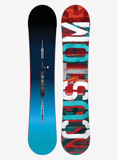Burton Custom Flying V Snowboard shown in 155W