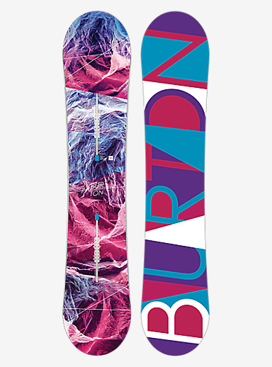 Burton Feelgood Flying V Snowboard shown in 140