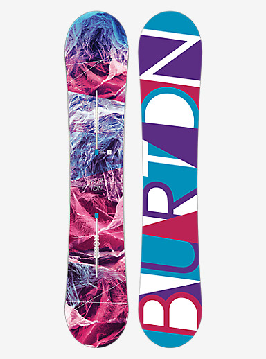 Burton Feelgood Flying V Snowboard shown in 149