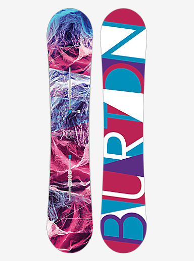 Burton Feelgood Flying V Snowboard shown in 152