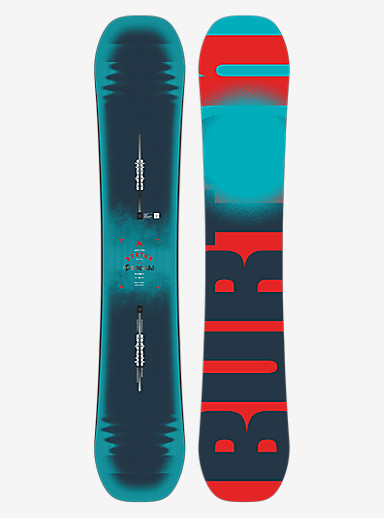 Burton Process Flying V Snowboard shown in 162