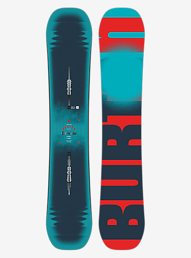 Burton Process Flying V Snowboard shown in 162W
