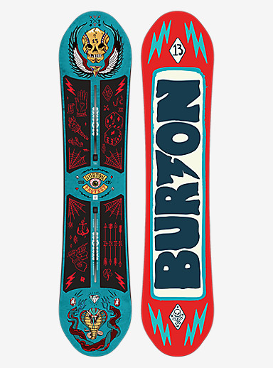 Burton ProTest Snowboard shown in 126