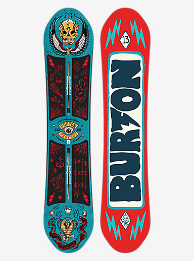 Burton ProTest Snowboard shown in 132